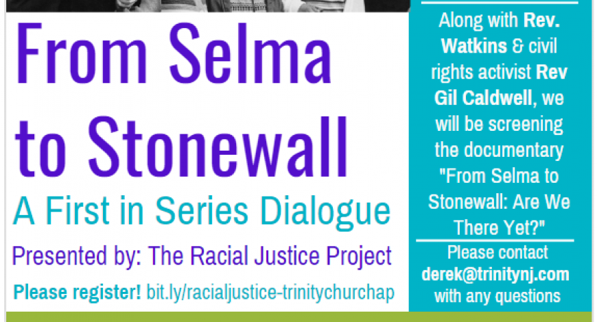 From Selma to Stonewall: A First in Series Dialogue