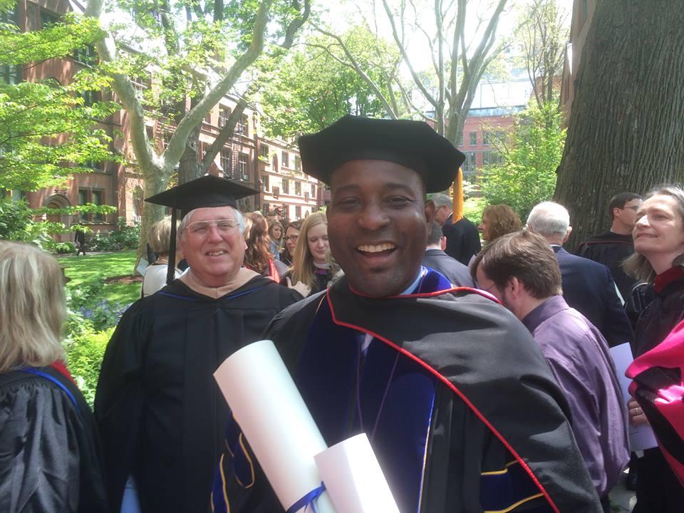 Graduation from the General Theological Seminary, NY